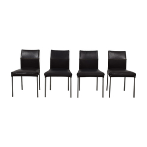 Design Within Reach KFF Leather Dining Chairs / Chairs