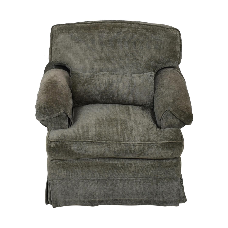 89 Off Classic Sofa Classic Sofa Nyc Grey Blue Oxford Armchair