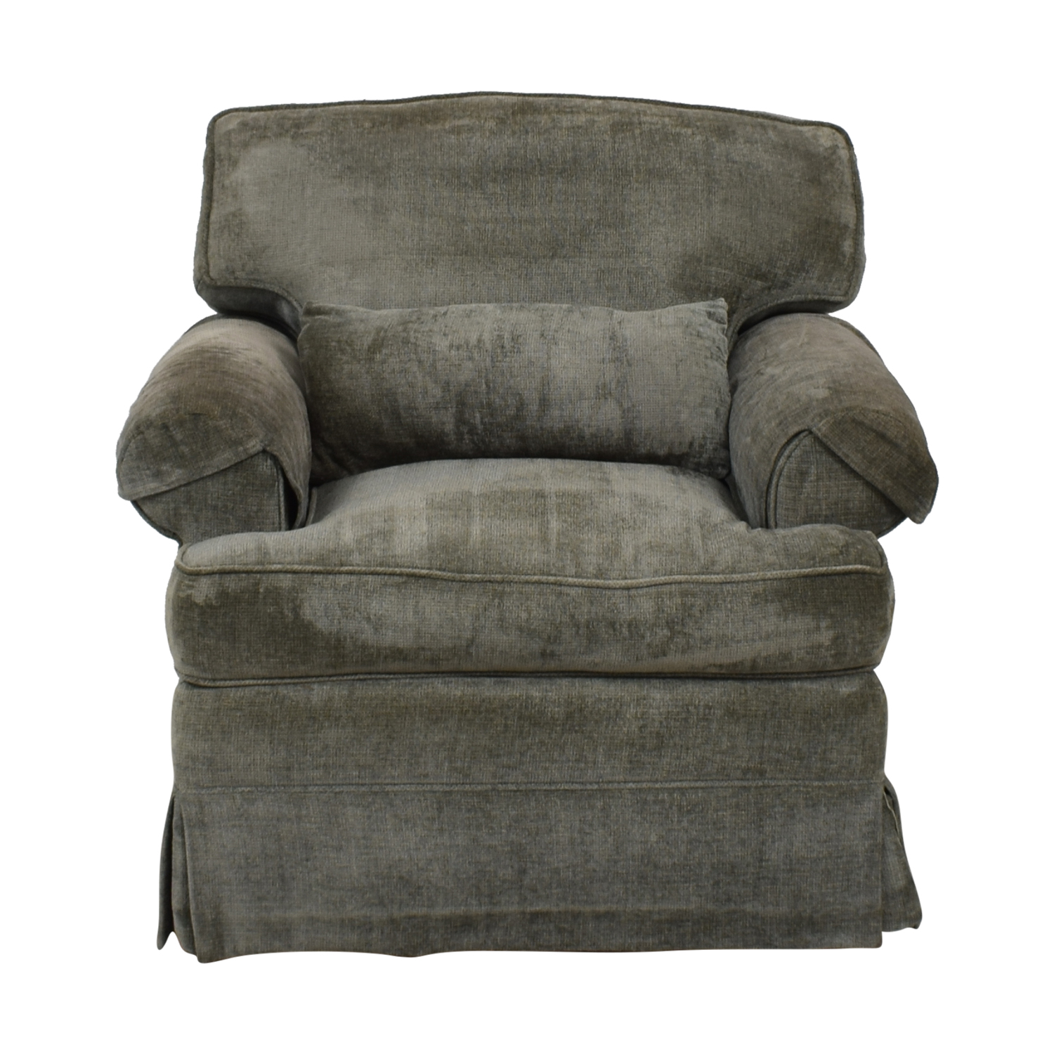 shop Classic Sofa NYC Grey Blue Oxford Armchair Classic Sofa NYC Chairs