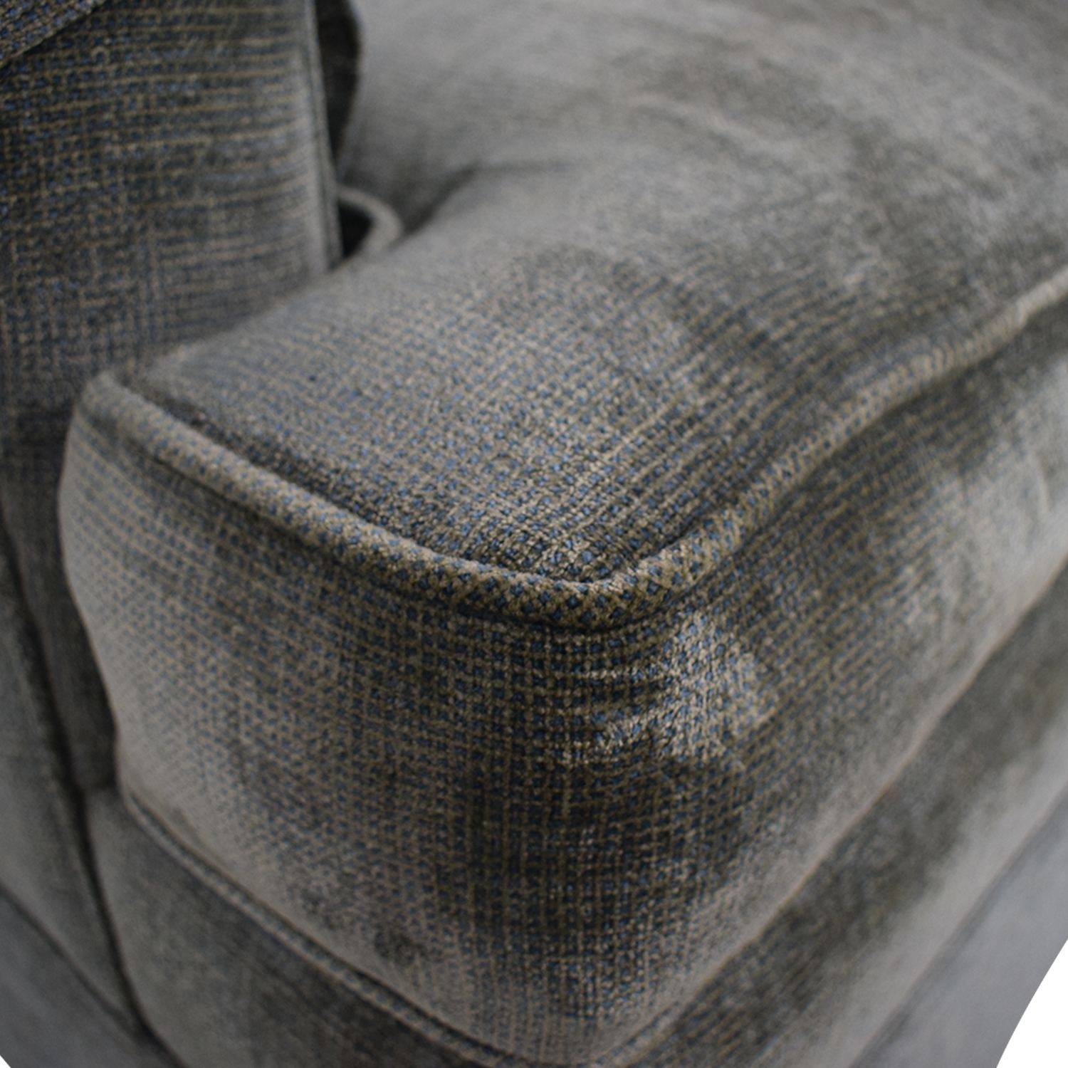 Classic Sofa NYC Grey Blue Oxford Armchair / Accent Chairs