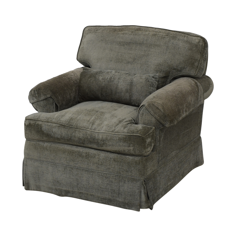 shop Classic Sofa NYC Grey Blue Oxford Armchair Classic Sofa NYC