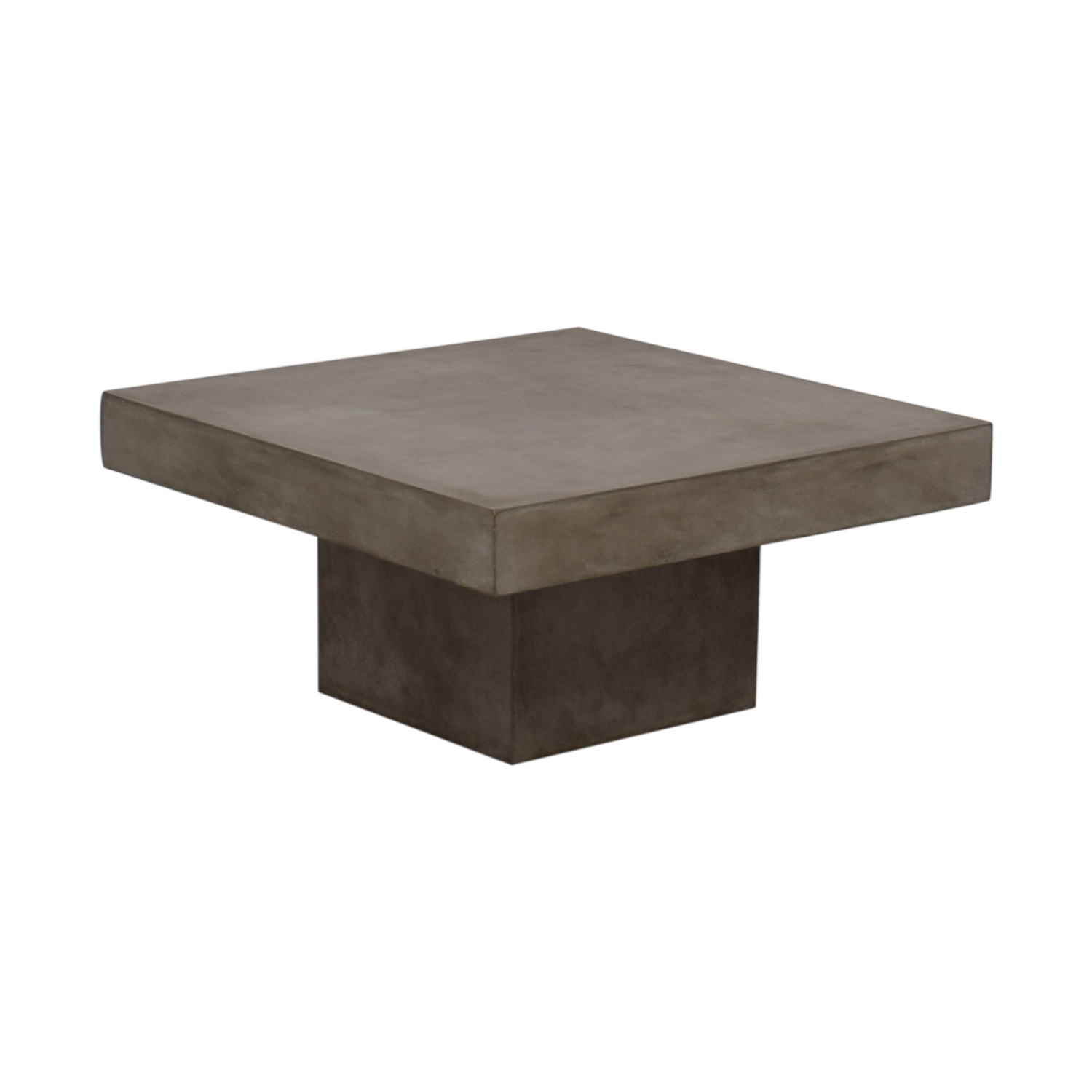 CB2 CB2 Element Cement Coffee Table for sale