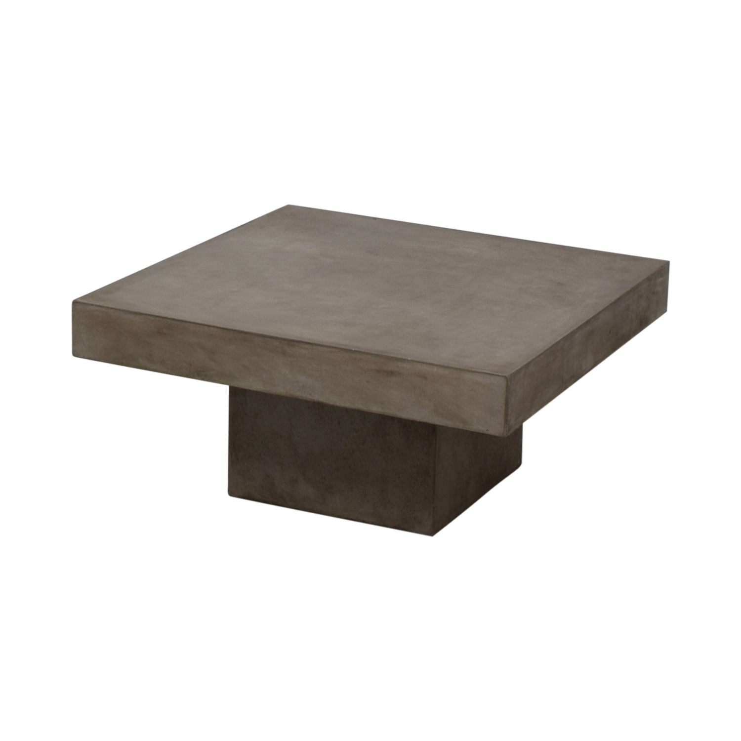 Ordinaire 65% OFF   CB2 CB2 Element Cement Coffee Table / Tables