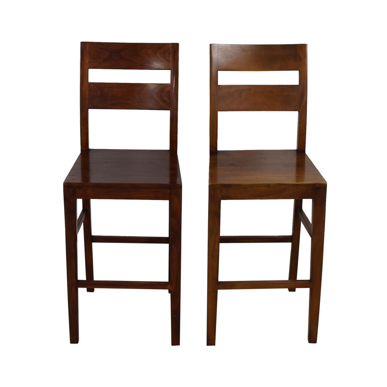 shop Crate & Barrel Counter Breakfast Bar Stools Crate & Barrel Chairs
