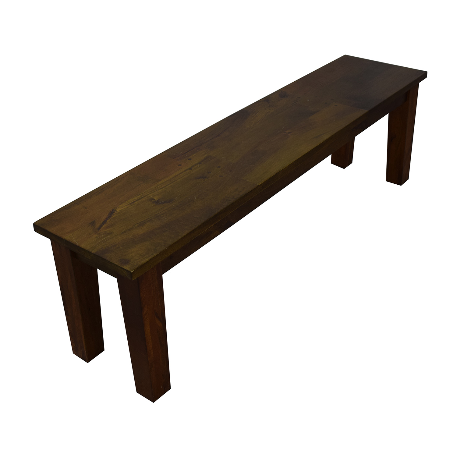 Crate & Barrel Crate & Barrel Wood Table with Two Benches