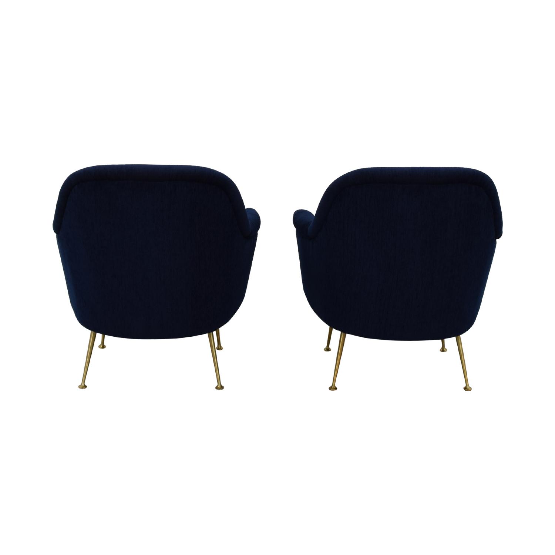 West Elm West Elm Phoebe Chairs used