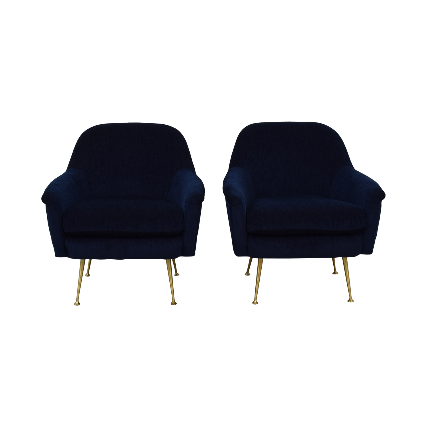 West Elm West Elm Phoebe Chairs Accent Chairs