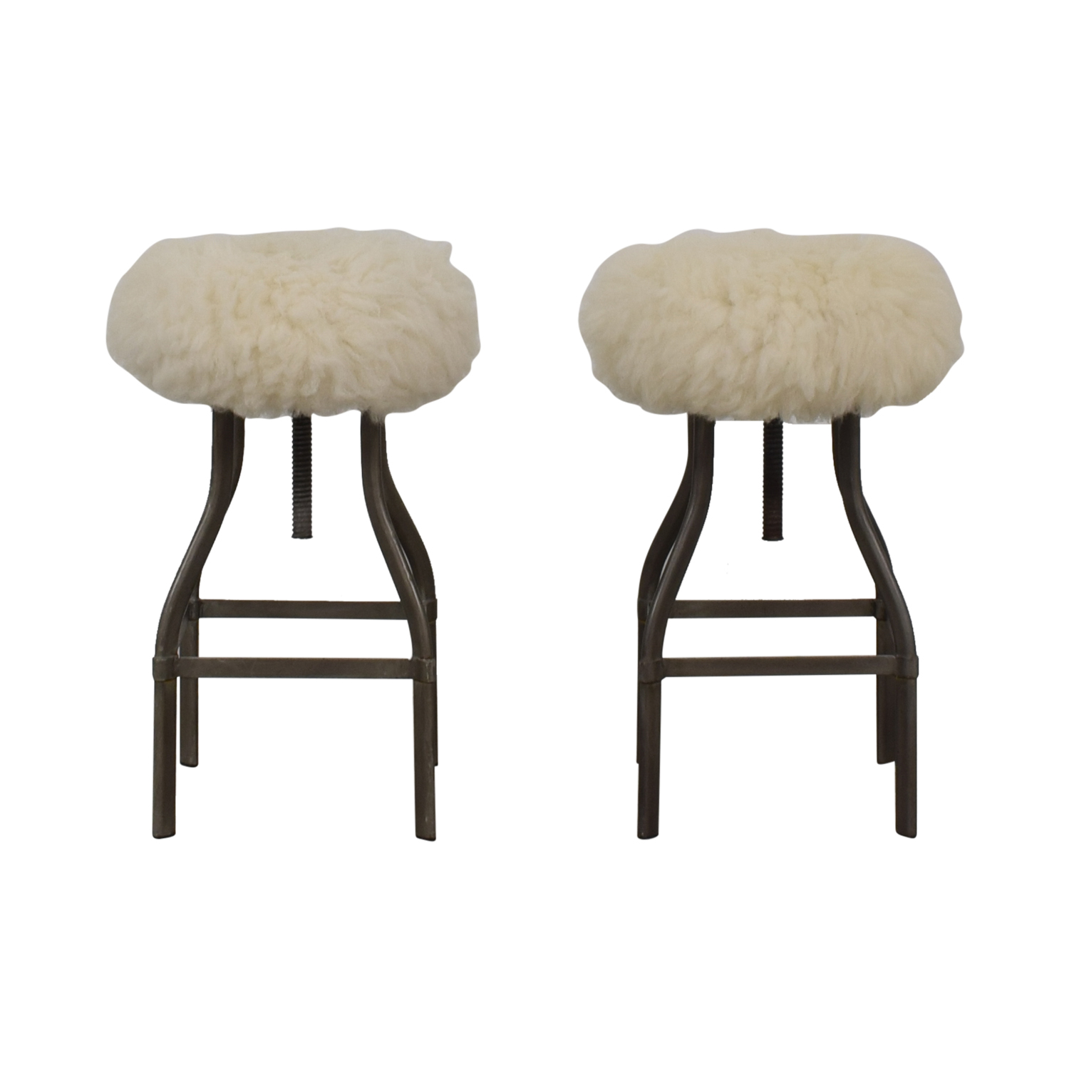Crate & Barrel Turner Adjustable Counter Stools Crate & Barrel