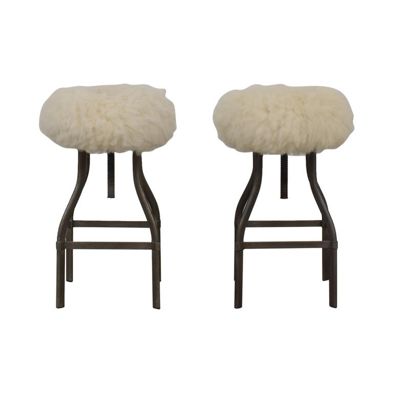 buy Crate & Barrel Turner Adjustable Counter Stools Crate & Barrel Chairs