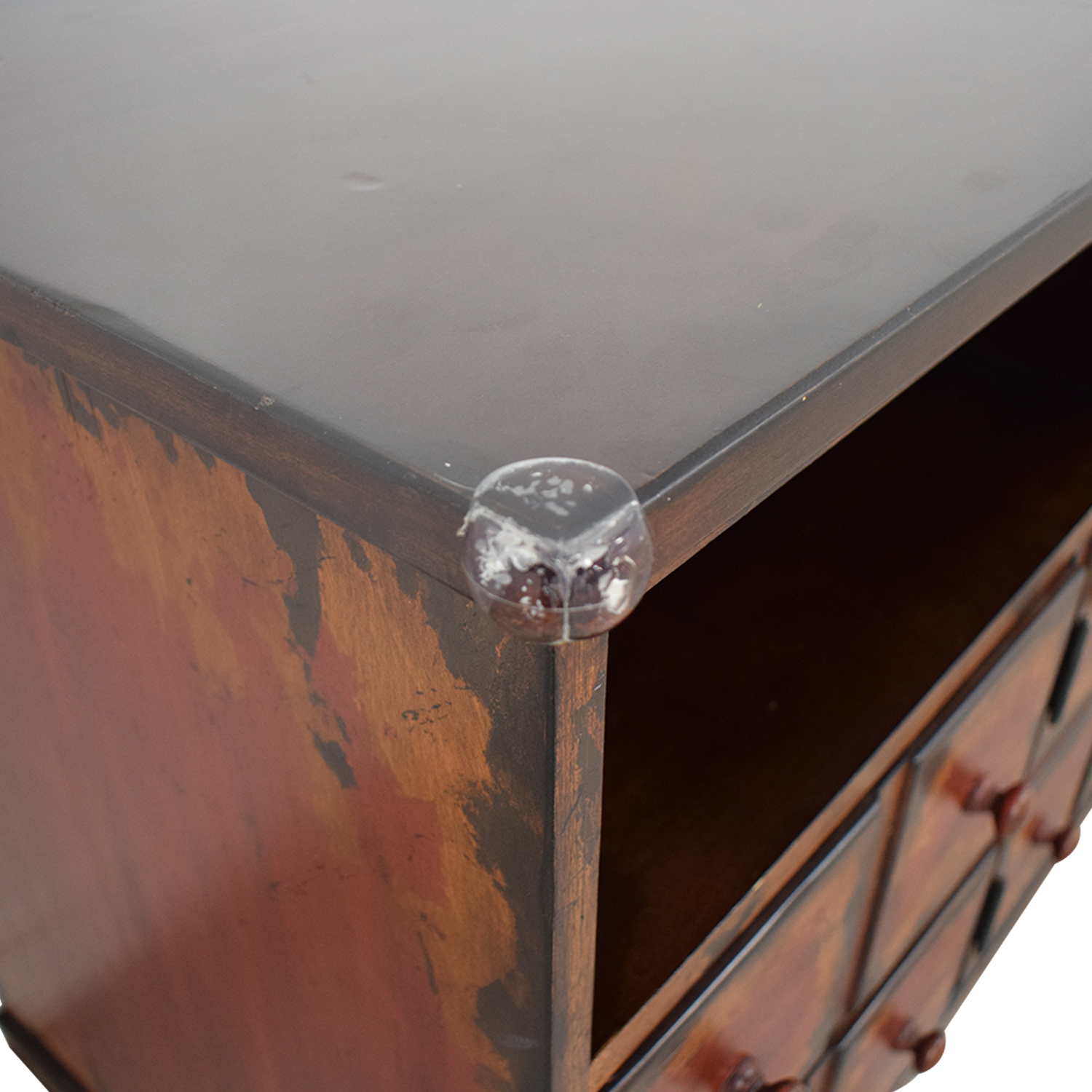 Pottery Barn Pottery Barn Entertainment Console dimensions