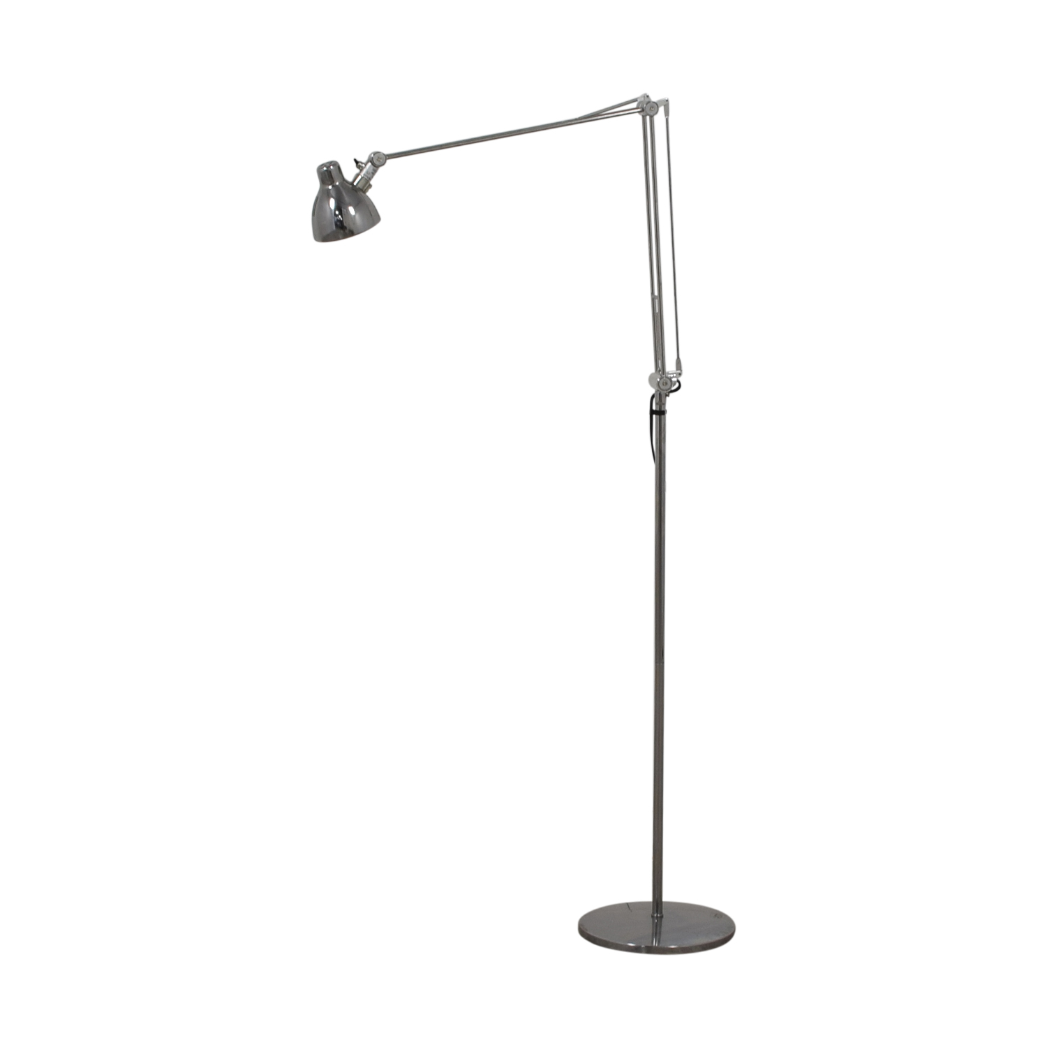 Chrome Floor Lamp second hand