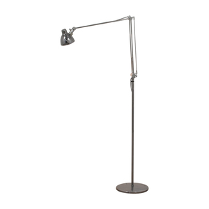 Chrome Floor Lamp used