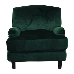 buy Rose Emerald Green Chair Interior Define