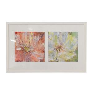 shop  Flowers White Framed Wall Art online