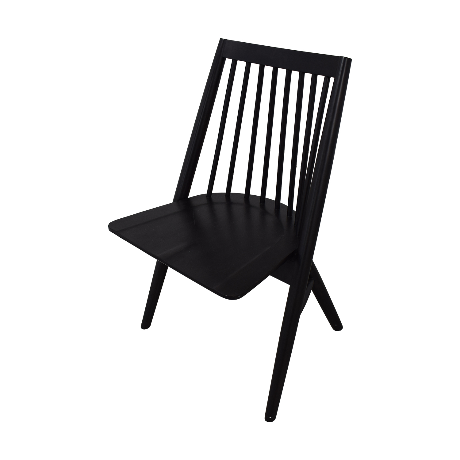 West Elm West Elm Black Spindle Chairs nj