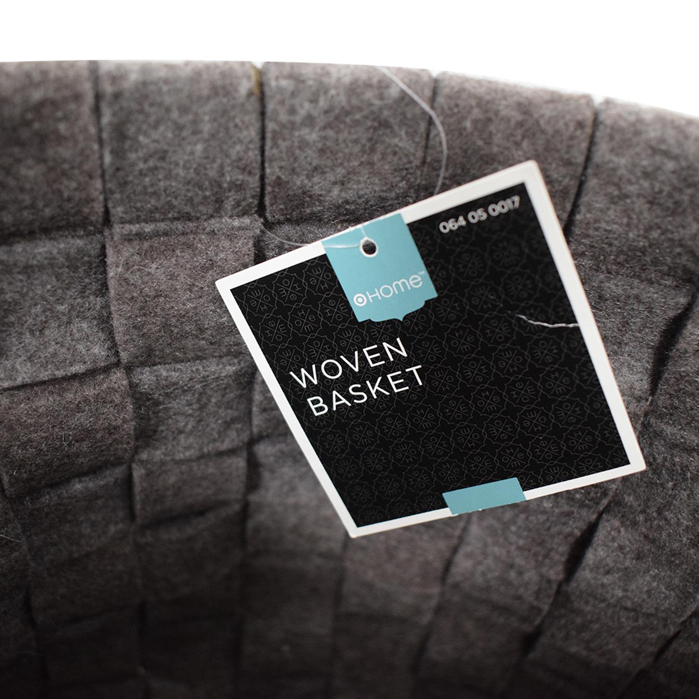 Target Target Grey Knitted Basket coupon