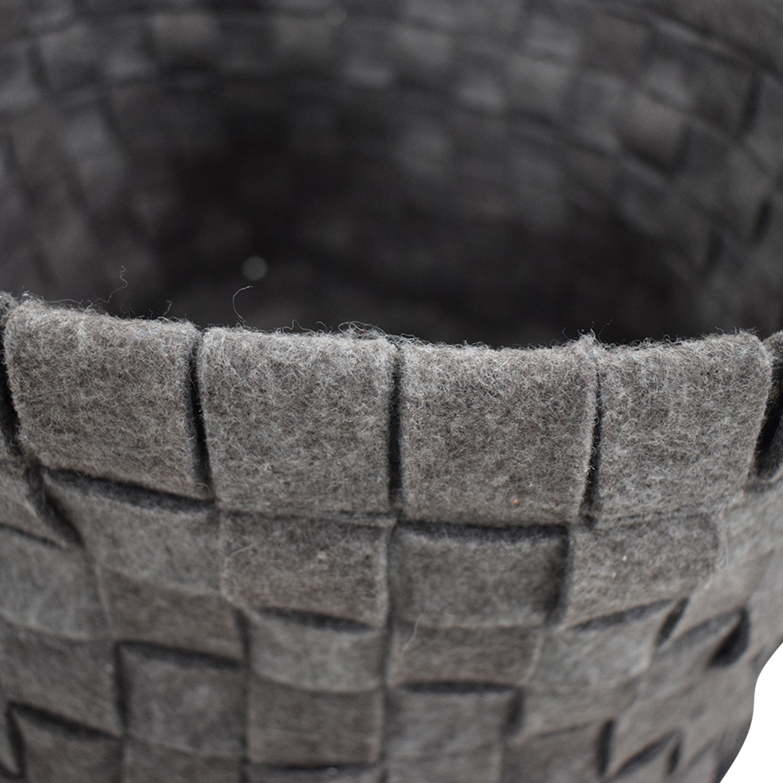 Target Target Grey Knitted Basket discount