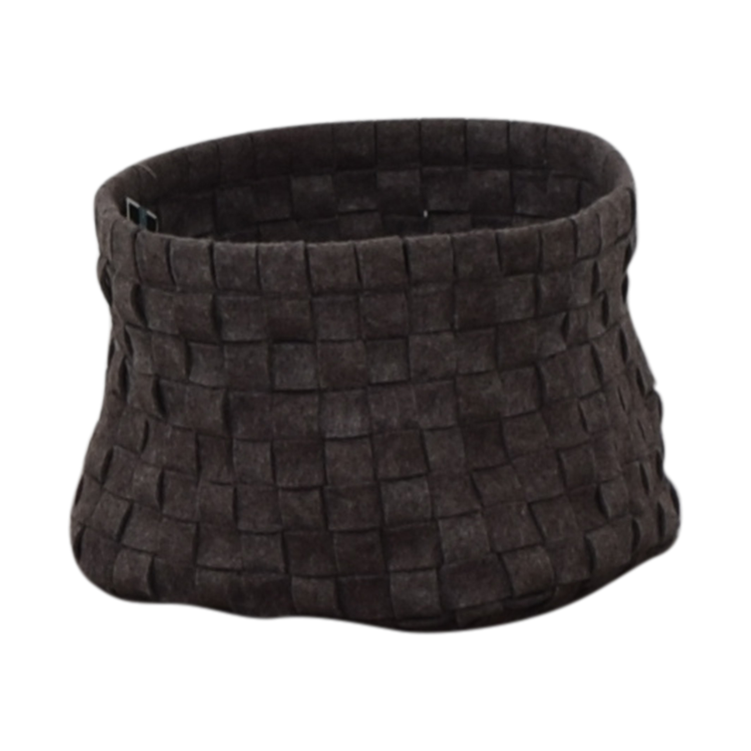 Target Grey Knitted Basket / Decorative Accents