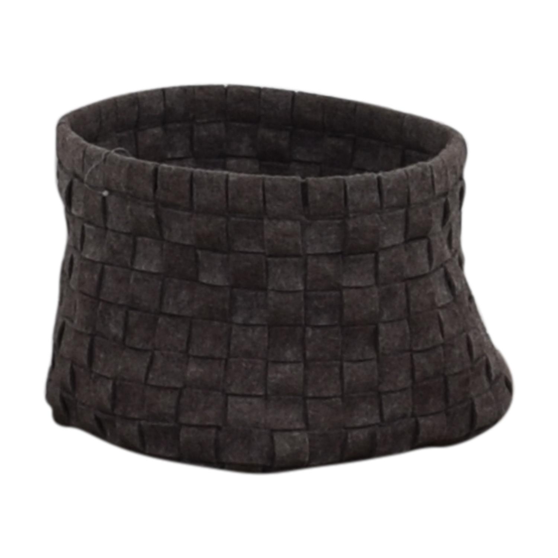 Target Target Grey Knitted Basket Decor
