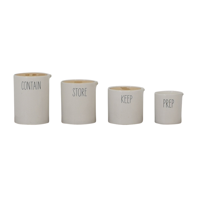 West Elm West Elm Labeled Kitchen Storage Canisters price