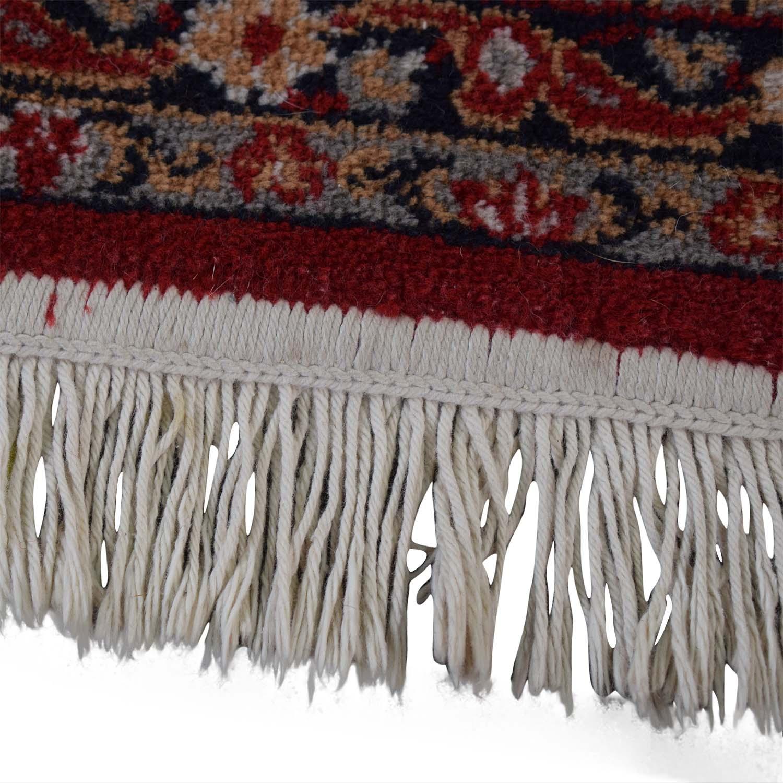 buy Red Oriental Floral Rug  Rugs