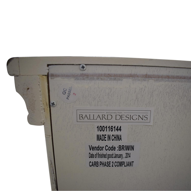 Ballard Designs Ballard Designs Eastman Secretary Desk and Dresser White
