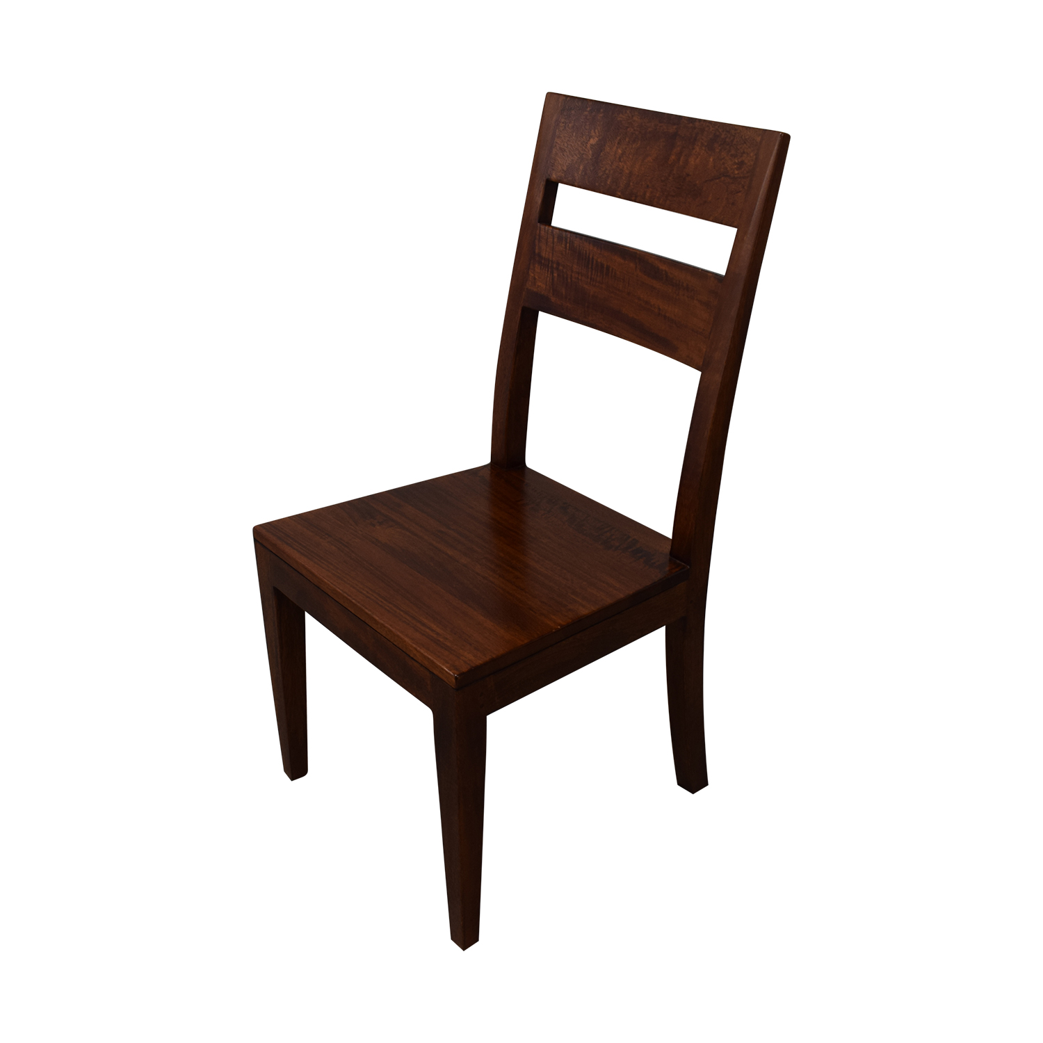 Crate & Barrel Crate & Barrel Basque Honey Wood Dining Chairs Dining Chairs