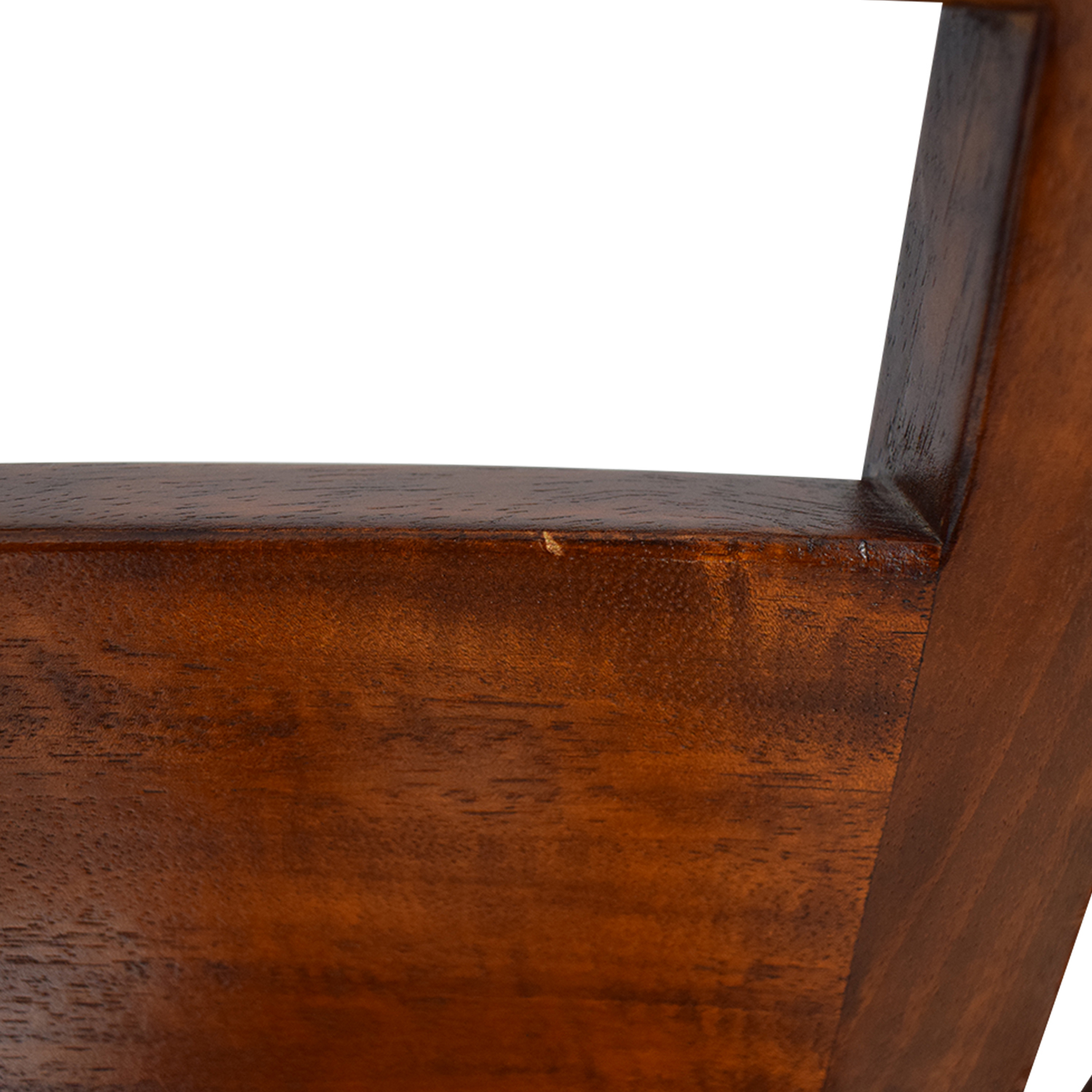 Crate & Barrel Crate & Barrel Basque Honey Wood Dining Chairs on sale