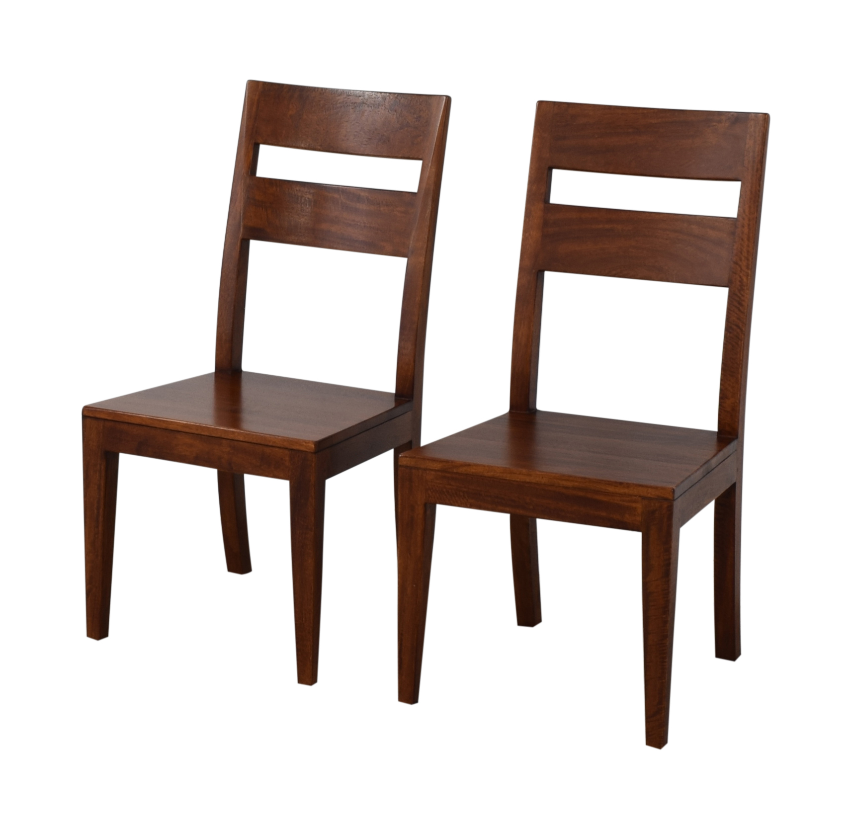 Crate And Barrel Dining Chairs: Crate & Barrel Crate & Barrel Basque Honey Wood