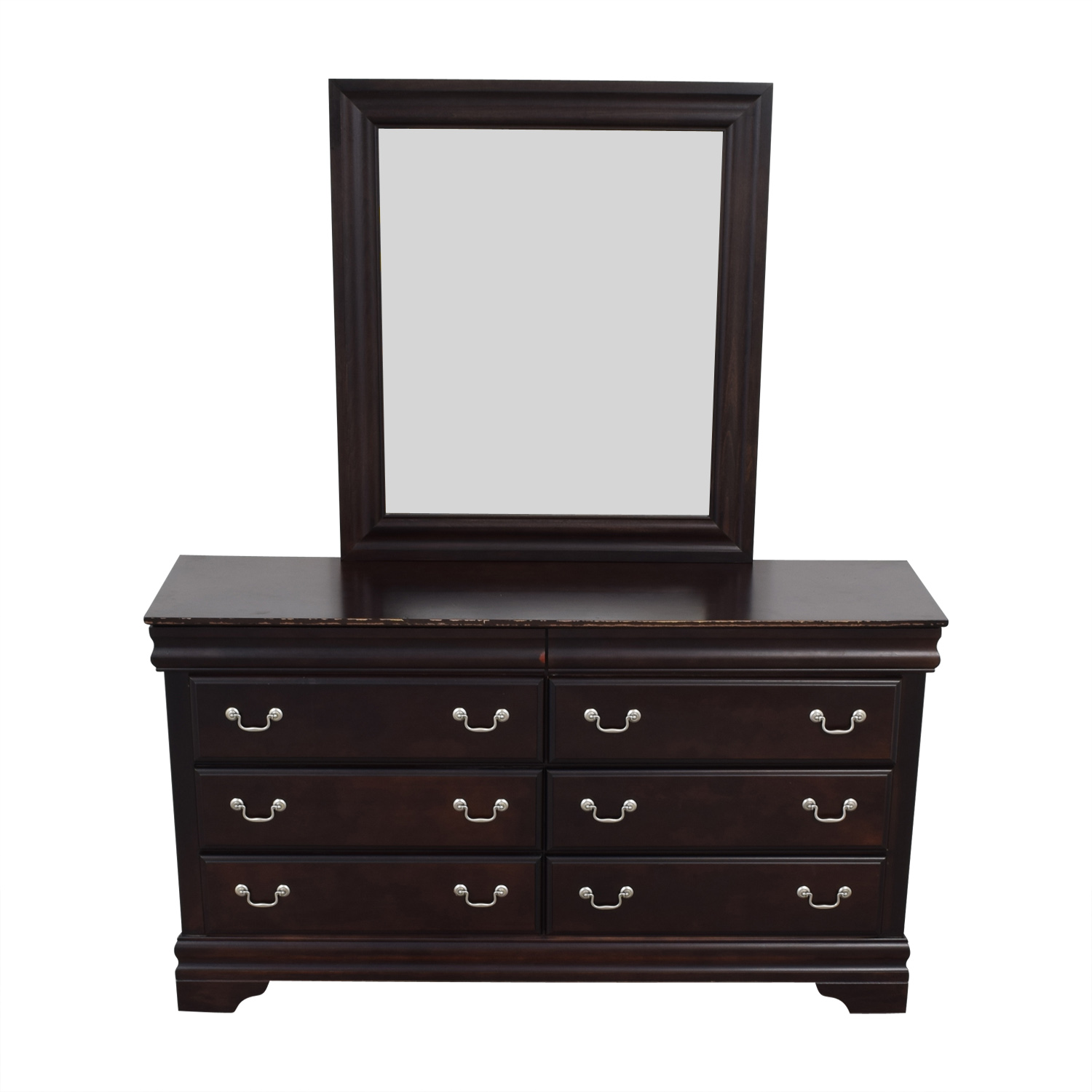 Vaughn-Bassett Dresser with Mirror / Dressers