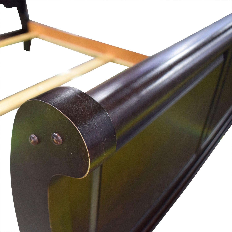 buy Vaughan-Bassett Furniture Louis Queen Sleigh Bed Vaughan-Bassett Furniture Beds
