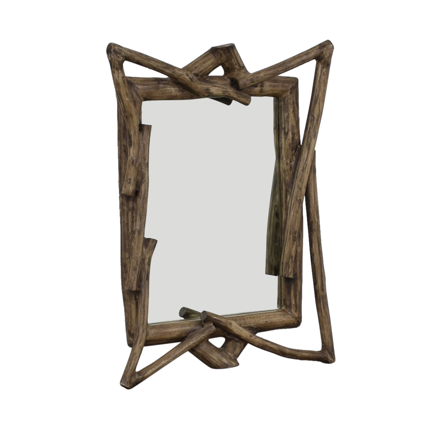 West Elm West Elm Rustic Wood Wall Mirror coupon
