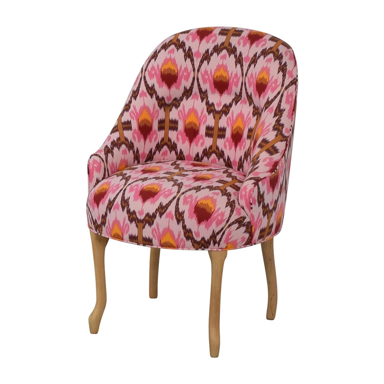 shop Vanguard Furniture Anthropologie Ikat Raspberry Chair Vanguard Furniture Chairs