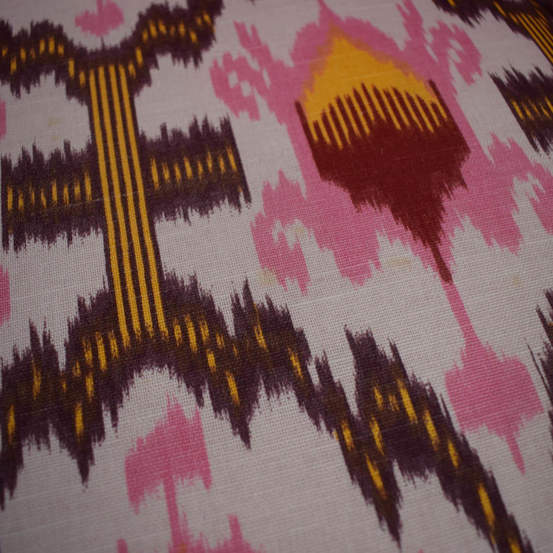 Vanguard Furniture Vanguard Furniture Anthropologie Ikat Raspberry Chair for sale