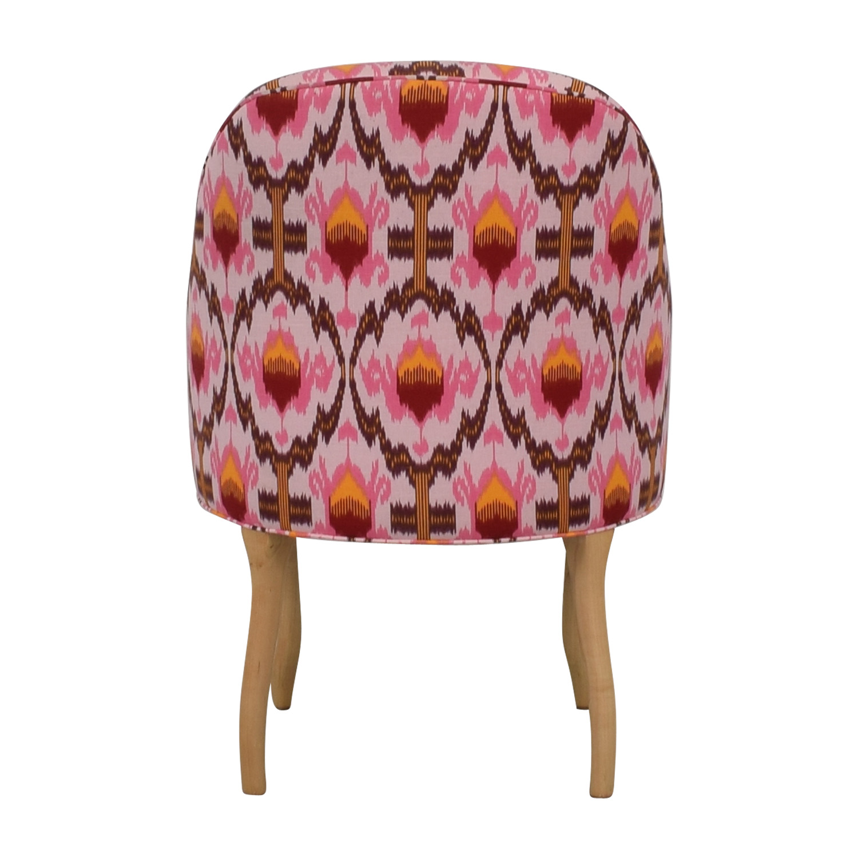 buy Vanguard Furniture Anthropologie Ikat Raspberry Chair Vanguard Furniture Chairs
