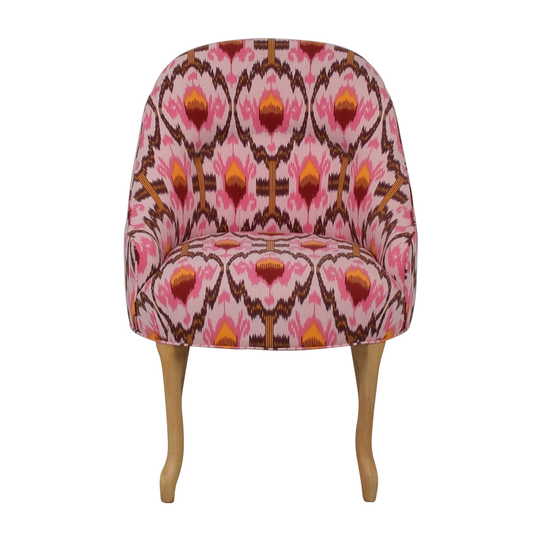 Vanguard Furniture Anthropologie Ikat Raspberry Chair sale