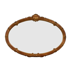 Gold Framed Wall Mirror / Decor