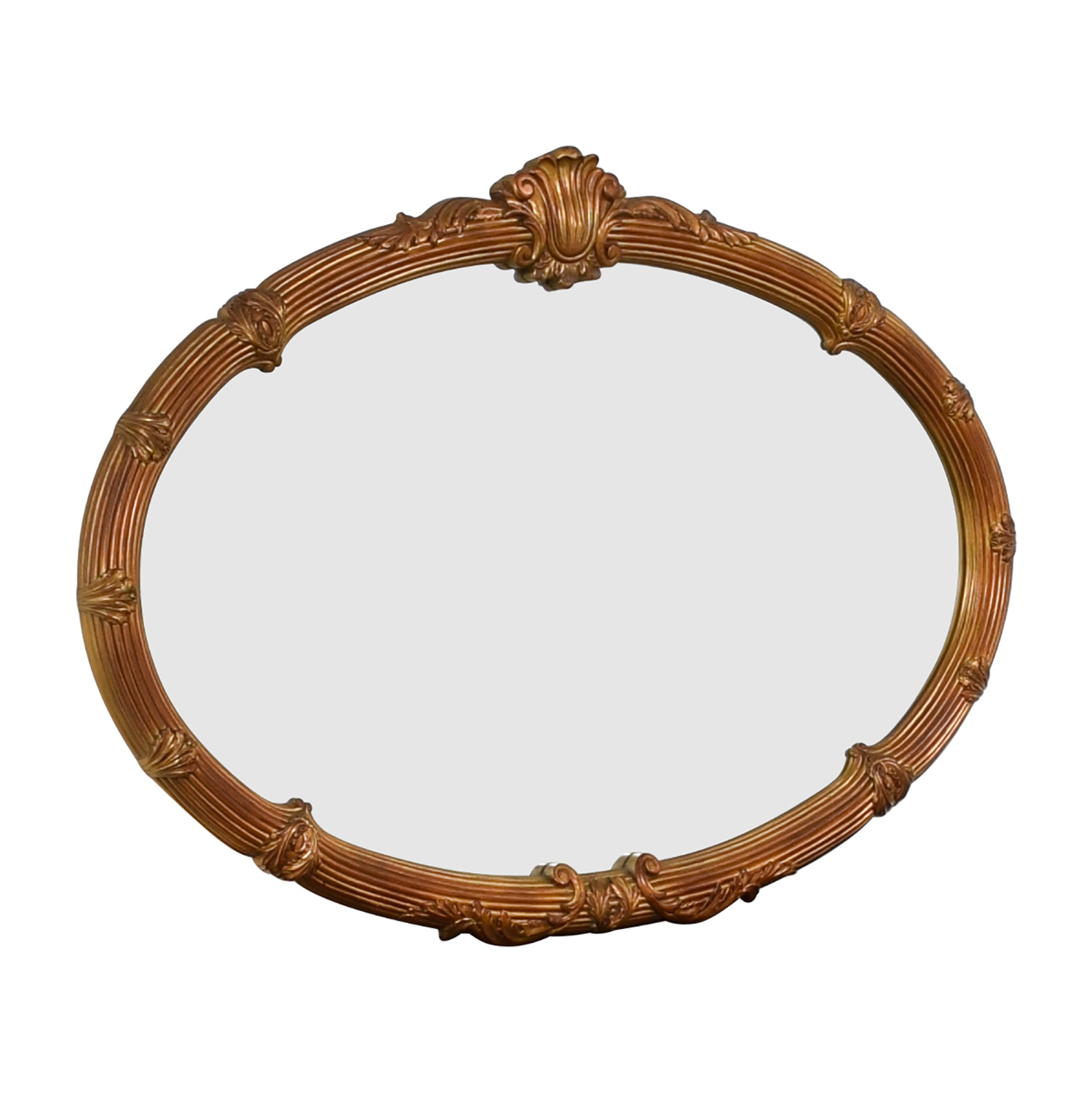 Gold Framed Wall Mirror used