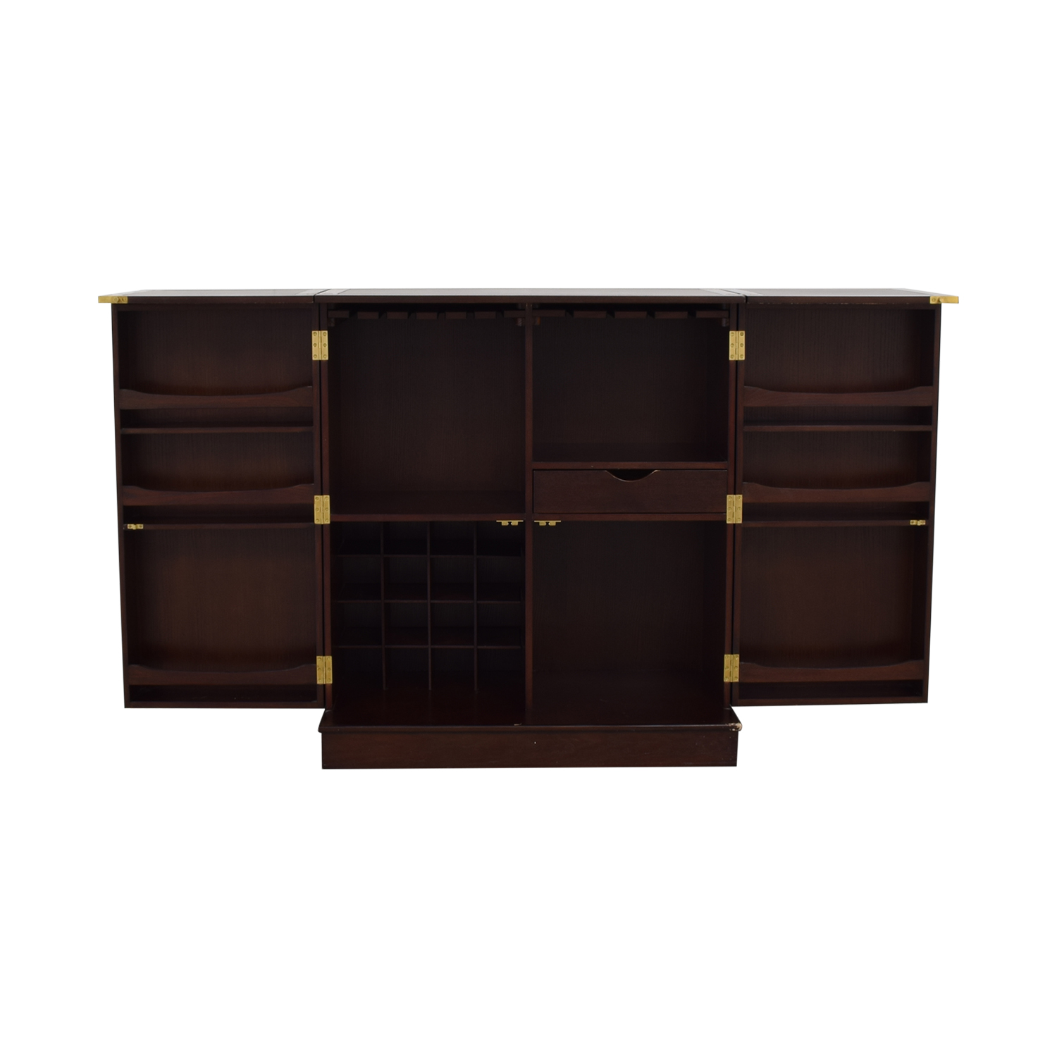 Wood Bar Cabinet second hand