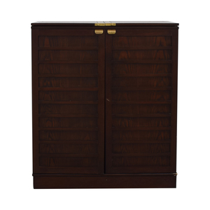 Wood Bar Cabinet on sale