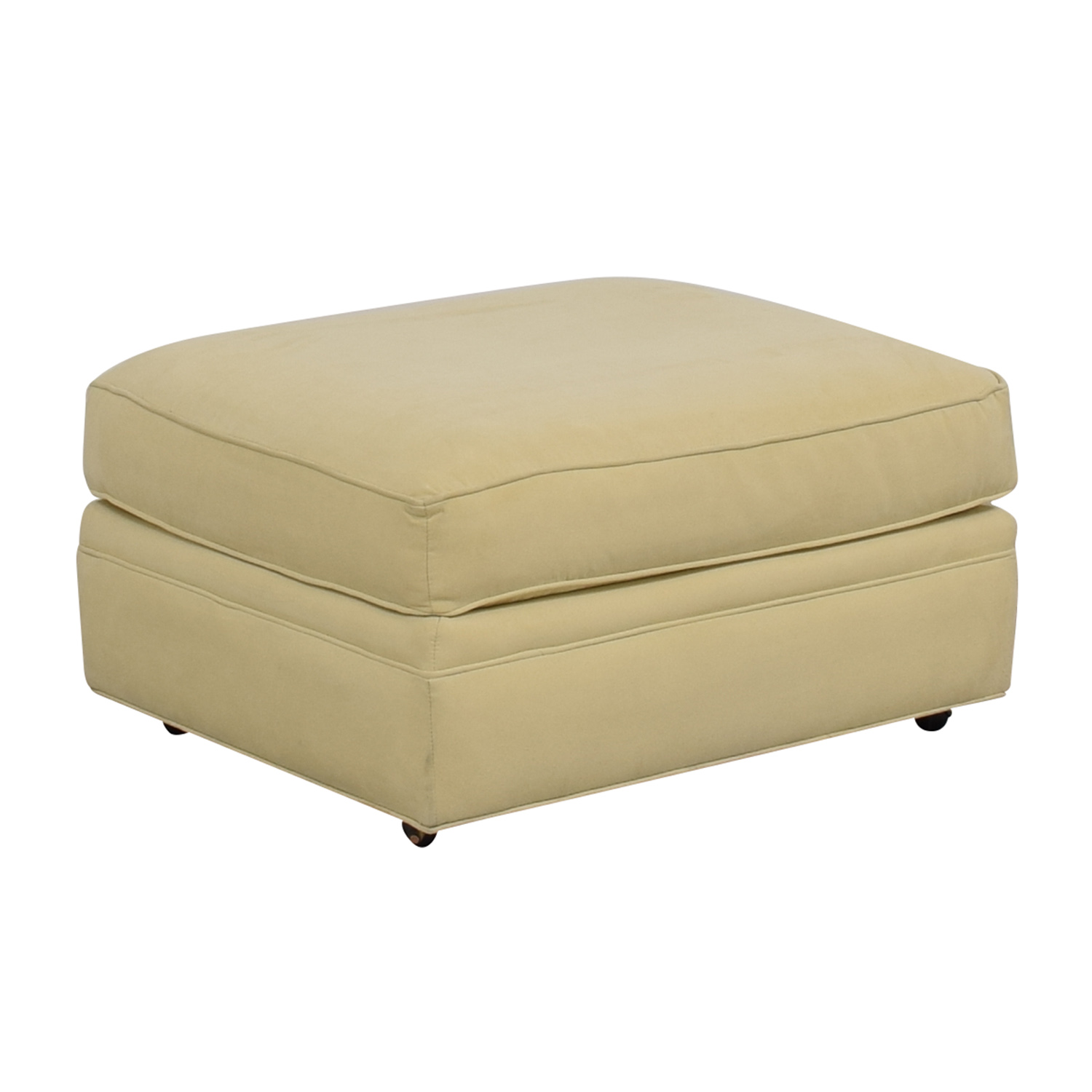Crate & Barrel Crate & Barrel Beige Ottoman Chairs