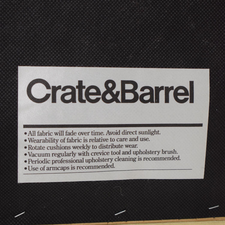 Crate & Barrel Crate & Barrel Beige Ottoman Chairs