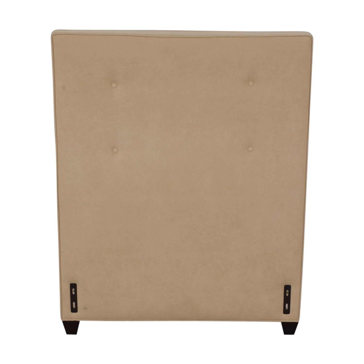 Crate & Barrel Crate & Barrel Beige Twin Headboard discount