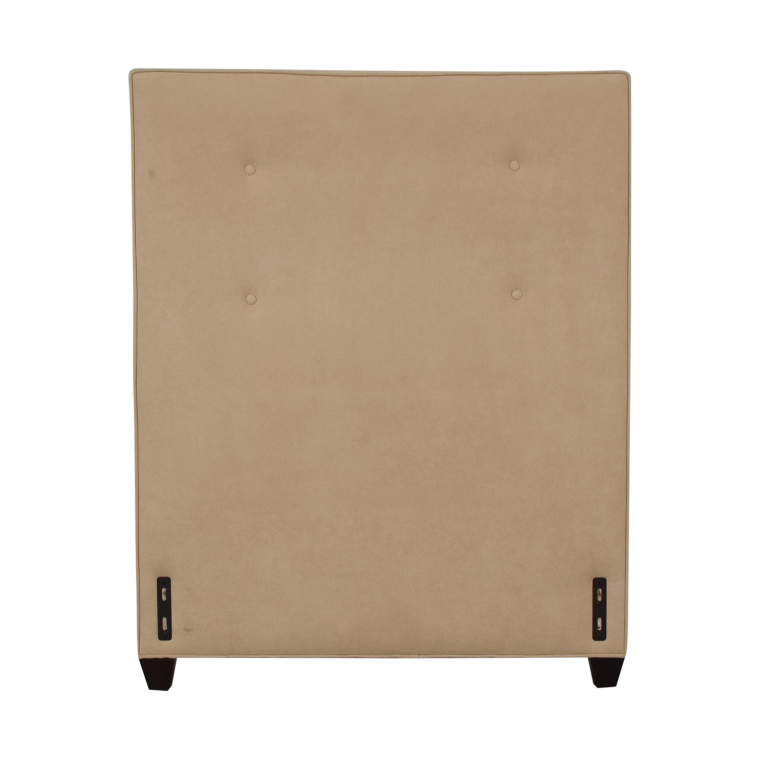 buy Crate & Barrel Beige Twin Headboard Crate & Barrel