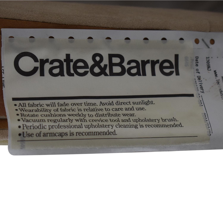 buy Crate & Barrel Beige Twin Headboard Crate & Barrel Headboards
