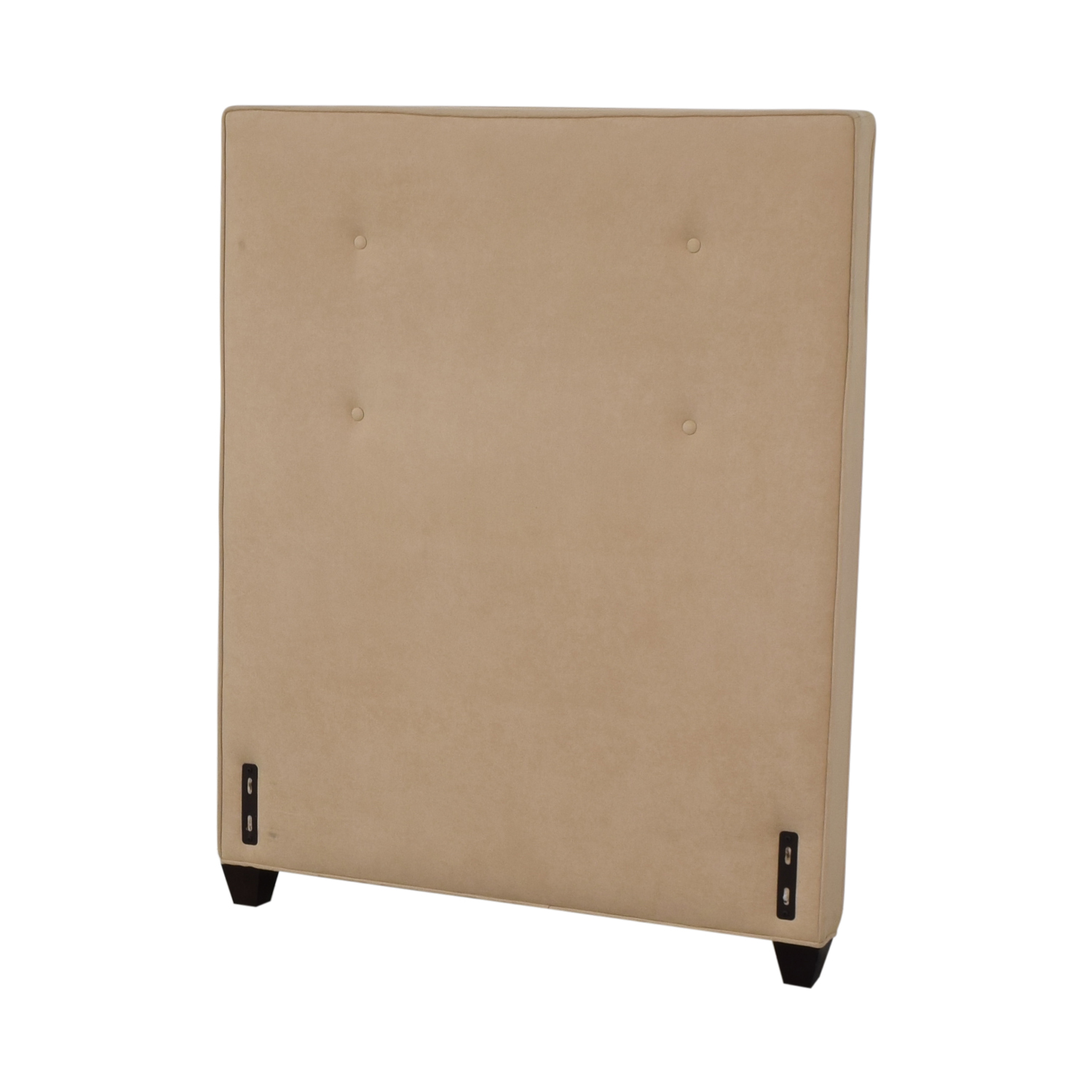 Crate & Barrel Crate & Barrel Beige Twin Headboard dimensions