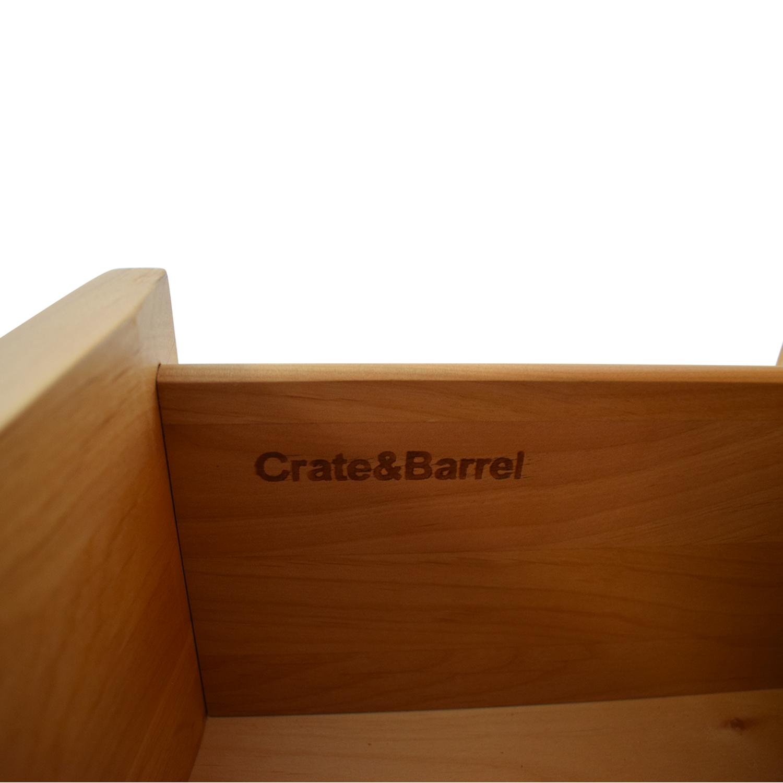 Crate & Barrel Crate & Barrel Five-Drawer Tall Dresser Dressers