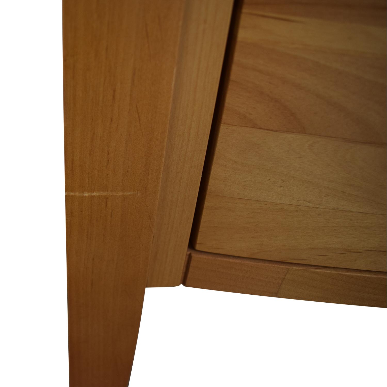 buy Crate & Barrel Five-Drawer Tall Dresser Crate & Barrel