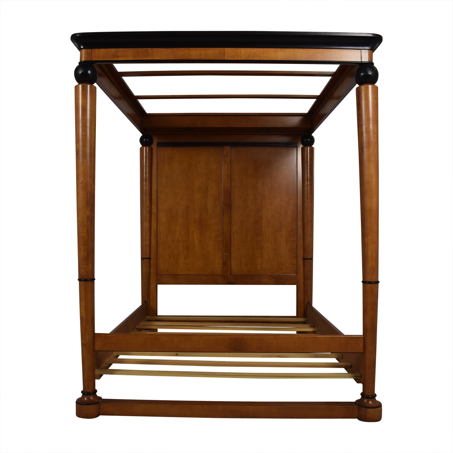 Biedermeier Biedermeier Queen Canopy Poster Bed Frame for sale