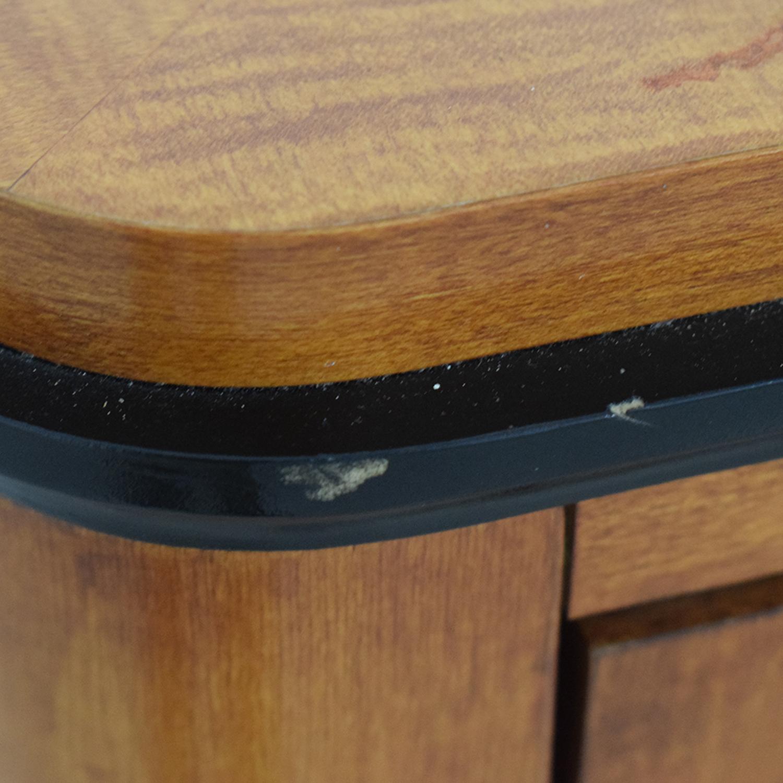 buy Biedermeier National Mt Airy Nine Drawer Dresser with Mirror Biedermeier Storage
